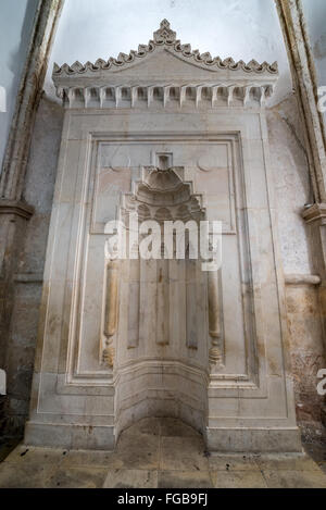 Mihrab In Cenacle Upper Room Held To Be A Site Of The