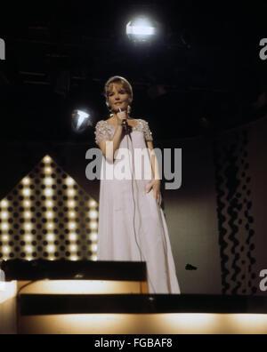 PETULA CLARK  English singer and film actress about 1972 - Stock Photo
