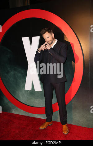 Celebrities attend THE X-FILES Premiere Event at California Science Center.  Featuring: Joel McHale Where: Los Angeles, - Stock Photo