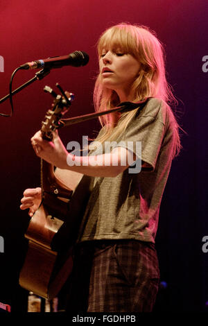 Lucy Rose plays Brighton Dome on 18/02/2016 at Brighton Dome, Brighton.  Persons pictured: Lucy Rose Parton. Picture - Stock Photo