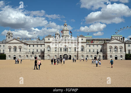 The Household Cavalry Museum on Horse Guards Parade, London, UK. - Stock Photo