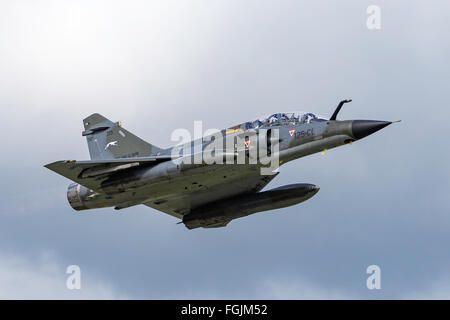 Dassault Mirage 2000N strike aircraft operated by the French Air Force (Armee de l'Air) - Stock Photo