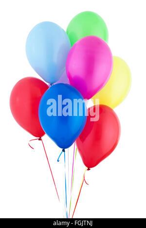 Helium Balloons floating - Stock Photo