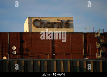 das Bettenhaus der Charite , Berlin-Mitte. - Stock Photo