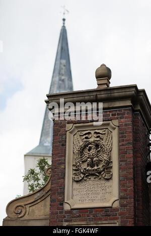 August 2015 Cambridge, Massachusetts, USA.  Harvard University. - Stock Photo