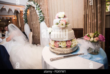 at wedding in Wells,Somerset,England. - Stock Photo