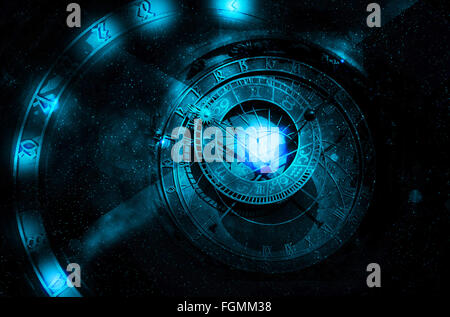 astrology universe concept - Stock Photo
