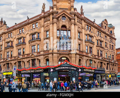 The Hippodrome Casino, Charing Cross Road, Leicester Square, London, England, UK - Stock Photo