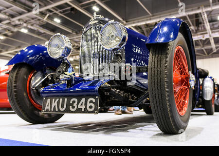 1935 Aston Martin MkII Long Chassis Tourer on display at the 2016 London Classic Car Show - Stock Photo