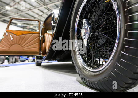 1933 Jaguar SS1 Coupe on display at the 2016 London Classic Car Show - Stock Photo