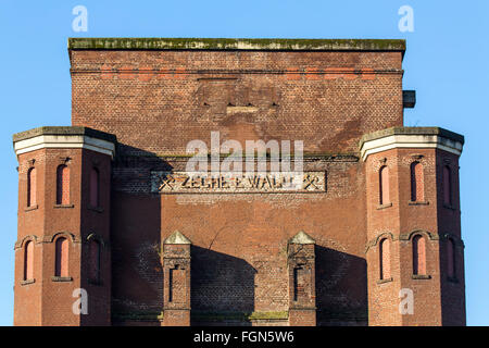 Former coal mine pit Ewald in Herten, Germany, closed coal mine, today an industrial monument park, - Stock Photo