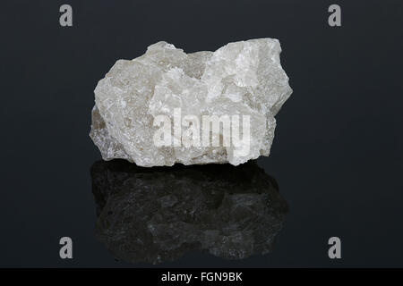 Anhydrite (anhydrous calcium sulfate), Ontario, Canada - Stock Photo