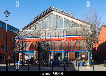 Manchester Craft and Design Centre, known as Manchester Craft Village, Oak Street, Northern Quarter, Manchester, - Stock Photo