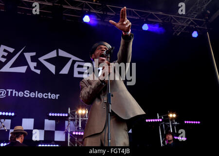 The Selecter, Village Green Music and Arts Festival, Southend-on-Sea, Essex © Clarissa Debenham / Alamy - Stock Photo