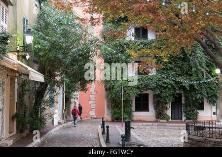 Altstadt von Saint-Tropez, Dep. Var, Côte d'Azur, Frankreich | old town, Saint-Tropez, Dep. Var, Côte d'Azur, France - Stock Photo