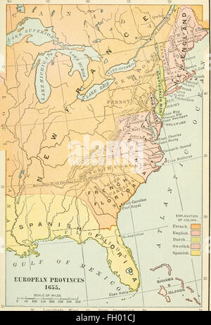 History of the United States from the earliest discovery of America to the present time (1912) - Stock Photo