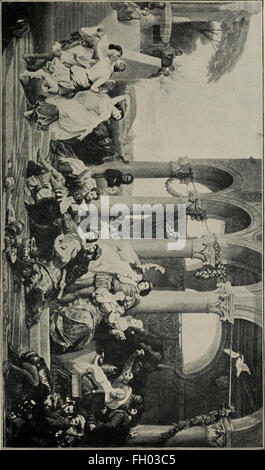 Library of the world's best literature, ancient and modern (1902) - Stock Photo