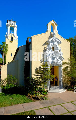 Coral Gables Congregational United Church of Christ miami florida fl - Stock Photo