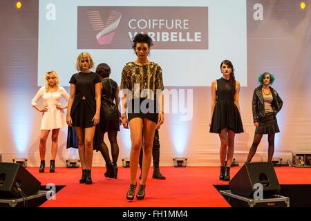 Fashion Show in Pilatusmarkt in Kriens, Lucerne, S