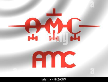 AMC Airlines logo icon flag emblem - Stock Photo