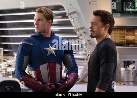 Marvel's The Avengers is a 2012 American superhero film based on the Marvel Comics superhero team of the same name. - Stock Photo