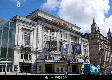 The Empire Theatre on Lime Street in Liverpool city centre UK - Stock Photo