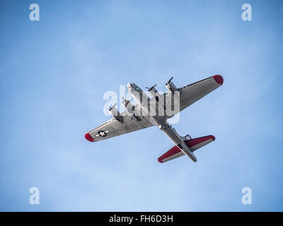 B-17 Flying Fortress - Stock Photo