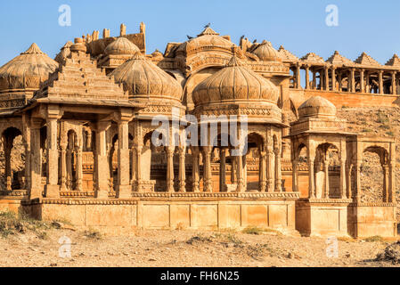 Bada Bagh, Jaisalmer, Rajasthan; India; Asia - Stock Photo