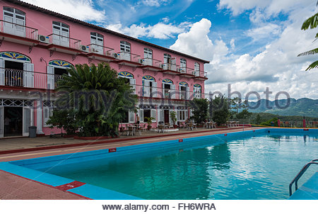 A Landscape Of Valley Between Mountains With A Pool In Ranthambore Stock Photo Royalty Free