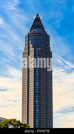 The MesseTurm in Frankfurt am Main - Stock Photo