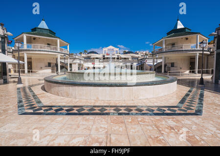 TENERIFE, SPAIN - FEBRUARY 23. Shopping centre in Las Americas on February 23, 2016 in Adeje, Tenerife, Spain.  - Stock Photo