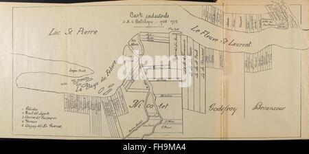 Histoire de la Baie-Saint-Antoine, dite Baie-du Febvre, 1683-1911 (1911) - Stock Photo