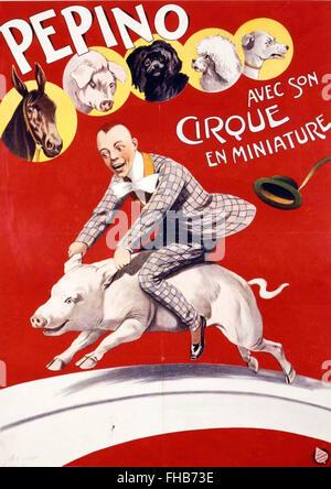 Historical Pepino poster - Stock Photo