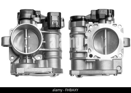 new vehicle throttle - Stock Photo