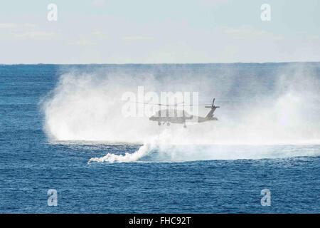 USS Theodore Roosevelt operations 14100 - Stock Photo