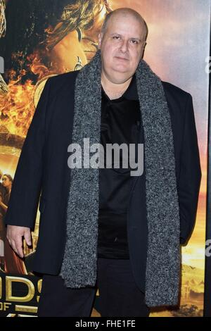 New York, NY, USA. 24th Feb, 2016. Alex Proyas at arrivals for GODS OF EGYPT Premiere, AMC Loews Lincoln Square - Stock Photo