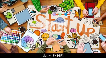 Designer Team Meeting Discussion Start up Concept - Stock Photo