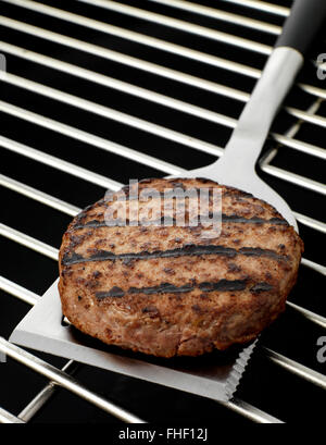Kettle BBQ with food - Stock Photo