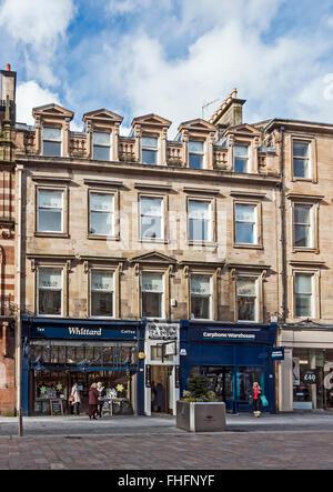 The Willow Tea Rooms in Buchanan Street Glasgow Scotland - Stock Photo