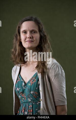 English writer and illustrator Matilda Tristram, pictured at the Edinburgh International Book Festival where she - Stock Photo