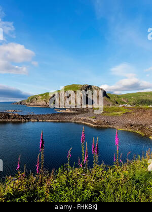 Easdale Island is the smallest permanently-inhabited island of the Inner Hebrides & situated off Scotland's west coast.