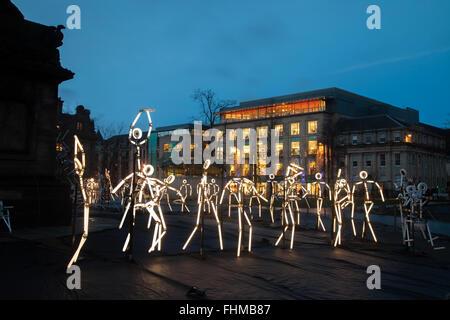 Keyframes, St Andrews Square, Edinburgh, Scotland. - Stock Photo