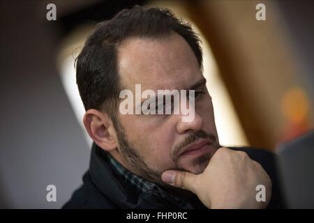MORITZ BLEIBTREU THE FIFTH ESTATE (2013) - Stock Photo