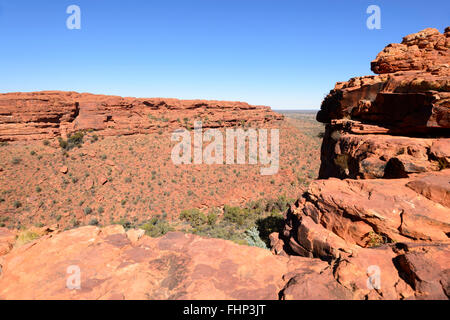 King's Canyon, Northern Territory, Australia - Stock Photo