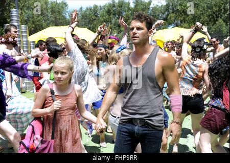 ANGOURIE RICE & NATHAN PHILLIPS THESE FINAL HOURS (2013) - Stock Photo