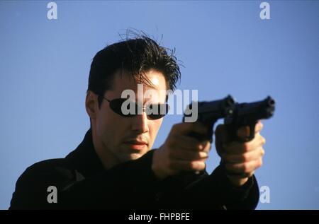 KEANU REEVES THE MATRIX (1999) - Stock Photo