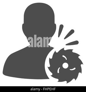 Body Execution Icon - Stock Photo