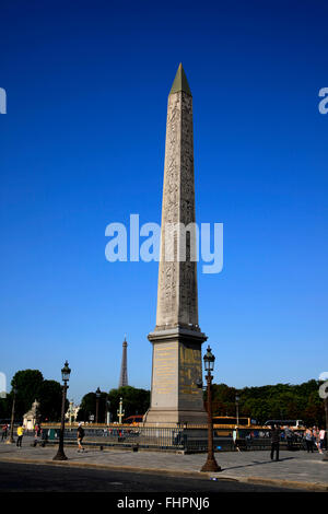 Place de la Concorde, Paris, France - Stock Photo