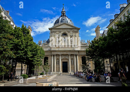 Sainte Ursule Chapel at the Sorbonne in Paris, France - Stock Photo