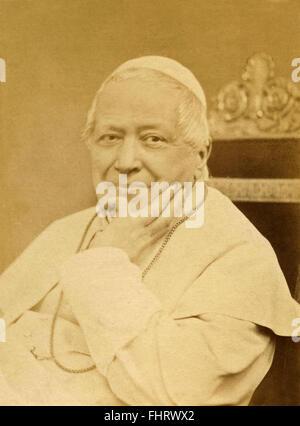 Portrait of Pope Pius IX - Stock Photo